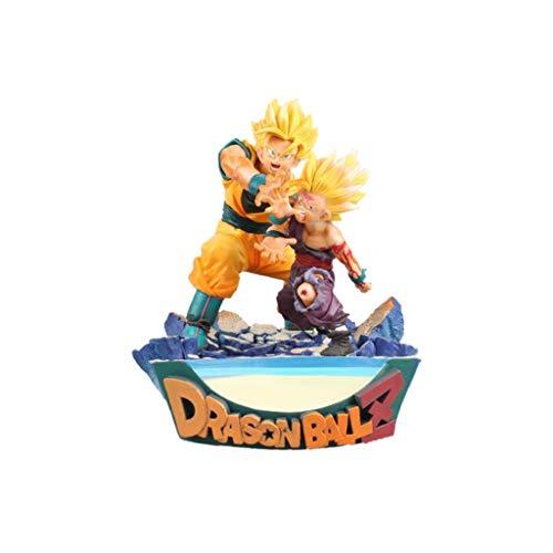 Yuxunqin Dragon Ball Son Goku Son Gohan Vater-Sohn-Shock Wave Action-Figur