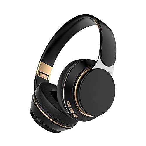 LPZW Auriculares inalámbricos Bluetooth 5.0 Auriculares estéreo Plegable Auricular Ajustable con...
