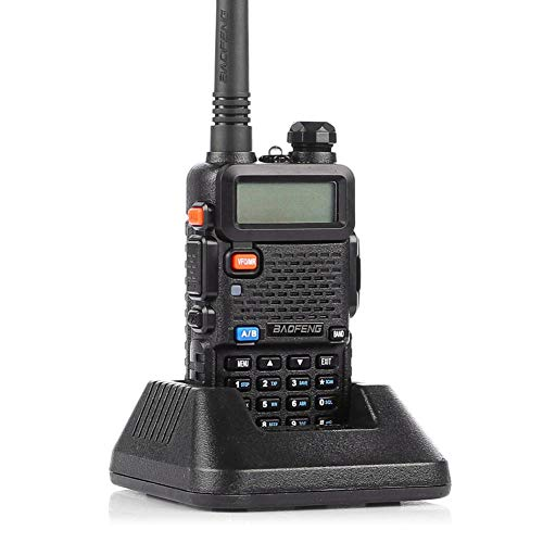 Baofeng UV-5R Two Way Radio Long Range Portable Radio Dual Band Transceiver Black. Buy it now for 21.55