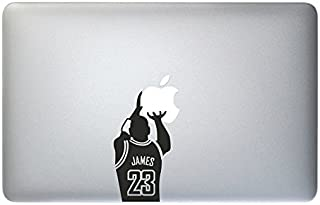 macbook stickers basketball