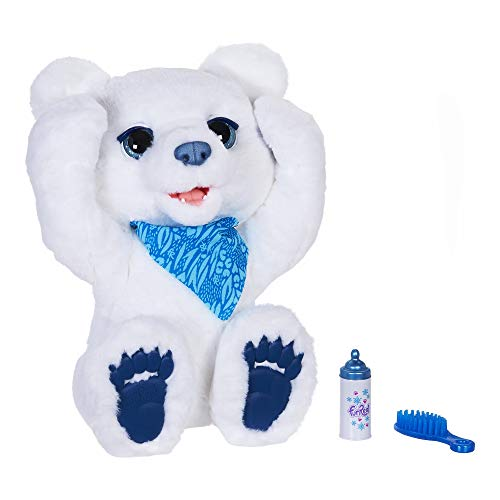 furReal Polar Bear Cub Interactive Plush Toy  Ages 4 and Up (Amazon Exclusive)