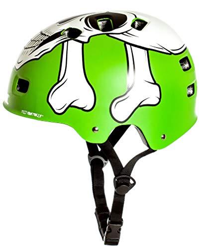 AWE® MEET YOUR MAKERTM BMX Helm Grün 55-58cm FREIES 5 JAHR CRASH ERSATZ * - 4