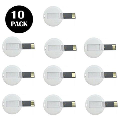 10 unidades crédito de la empresa unidades flash USB 4 GB (4.0 GB)