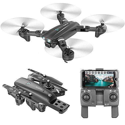 ZHCJH 5G GPS-Drohne, 1080P HD-Weitwinkelkamera-Drohne 5G WiFi FPV-Live-Video, GPS Return Home Faltbar für Anfänger und Profis, große Kontrollentfernung
