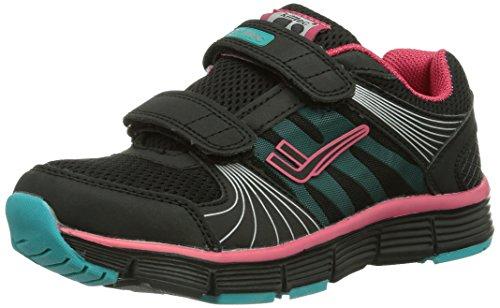 Killtec Breeze Jr, Unisex-Kinder Outdoor Fitnessschuhe - Schwarz (schwarz/pink/mint / 00920), 34 EU (1.5 Kinder UK)