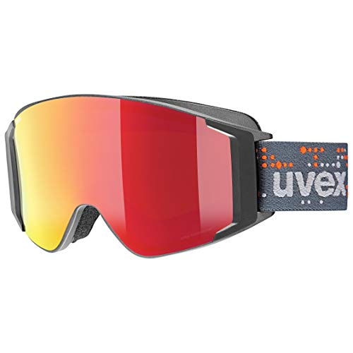 Uvex Unisex G.gl 3000 to Sportbrille, Anthracite mat/red-Clear, one Size