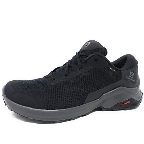 Salomon X Reveal GTX, Zapatillas de Senderismo Hombre, Negro (Black/Phantom/Magnet), 42 EU