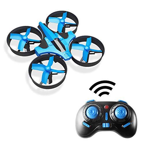 Hotbird Mini Drone für Kinder 2.4G 6-Achsen-Gyro Headless-Modus, One Key Return RC Quadrocopter, 360 ° Flip, Fernbedienung, Anfänger-Kinder-Drohne mit LED-Leuchten