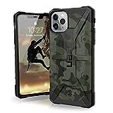 Urban Armor Gear Pathfinder Apple iPhone 11 Pro Max (6.5') Cover Protettiva Rugged Custodia (Compatibile Con il Qi Wireless, Ultra Slim Protezione Case, Antiurto) - verde (Camo)