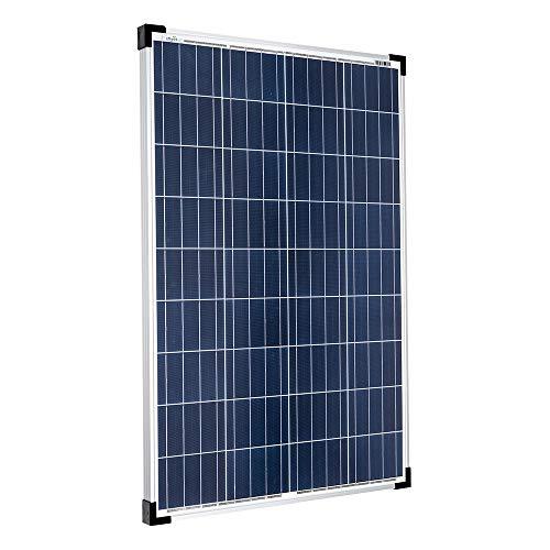 Offgridtec® 100W Poly Solarpanel 12V Solarmodul Solarzelle 100 Watt Camping Caravan Garten, 1 Stück, 001570.