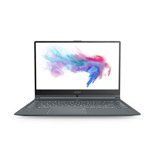 "MSI Modern 14 A10RB-665XES - Ordenador portátil 14"" FullHD (Intel Core i5-10210U, 8GB RAM, 512GB SSD, Nvidia MX250-2GB  sin Sistema operativo) gris - QWERTY Español [exclusivo Amazon]"