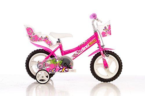 12 Zoll 126RL Dino Bikes Mädchenfahrrad Kinderfahrrad Kinderrad