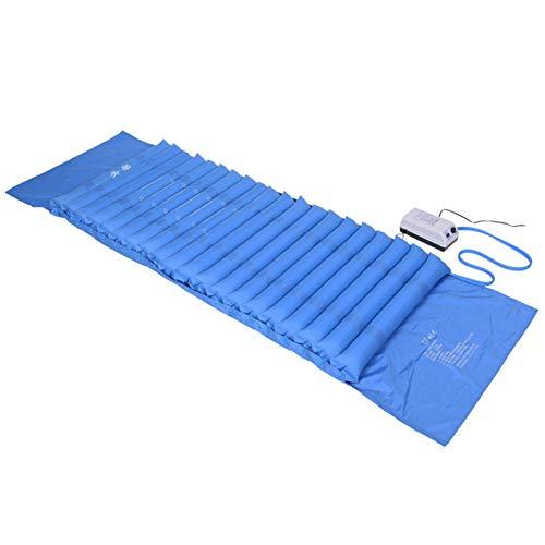 GFYWZ Anti-Dekubitus Medizinische Matratze mit Convenience Loch, Alternating Luftdruck-Matte für Dekubitus und Wundliegen, Home Care Pad mit Einstellbarer Pumpe,B