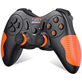 BEBONCOOL Wireless Switch Controller for Nintendo Switch/Switch Lite Console, Switch Remote Pro Controller with Motion Control and Vibration Orange Anti Slip Gamepad
