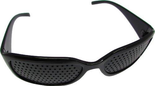 10x Lochbrille / Rasterbrille für Augentraining / Augentrainer (10 Stück)