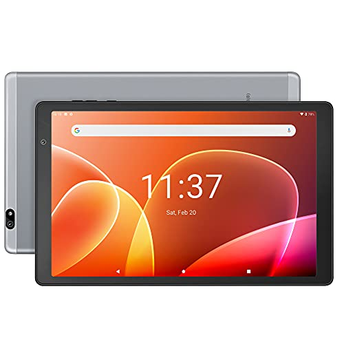 10 inch Tablet Octa Core CPU, 3 GB RAM, 32 GB Storage, IPS Screen, Android Pie, Bluetooth 5.0, 5G+2.4G WiFi, Dual Speakers, GPS, USB C Port