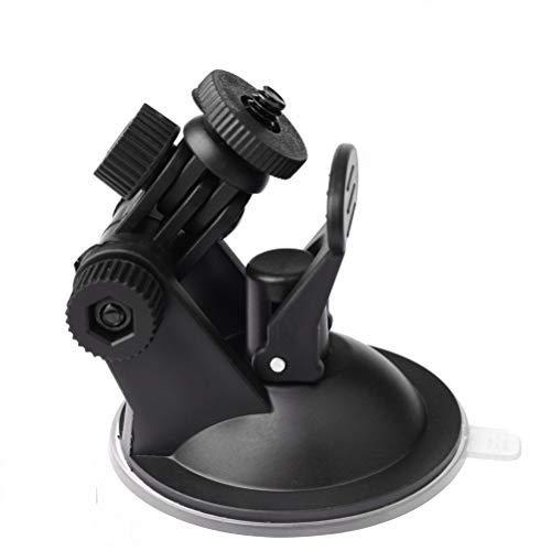 LiDing Soporte para cámara de salpicadero, con ventosa, soporte de coche para la mayoría de cámaras de salpicadero y GPS