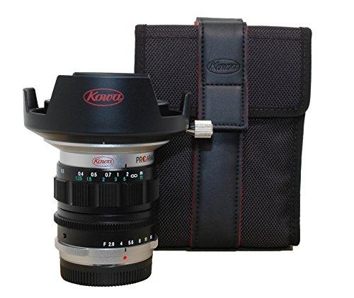Kowa PROMINAR 2,8/ 8,5mm Objektiv für Micro Four Thirds Anschluss, silber