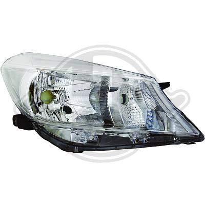 6607081; koplamp links (bestuurderszijde) voor T. Yaris van 2011 tot juni 2014 originele look