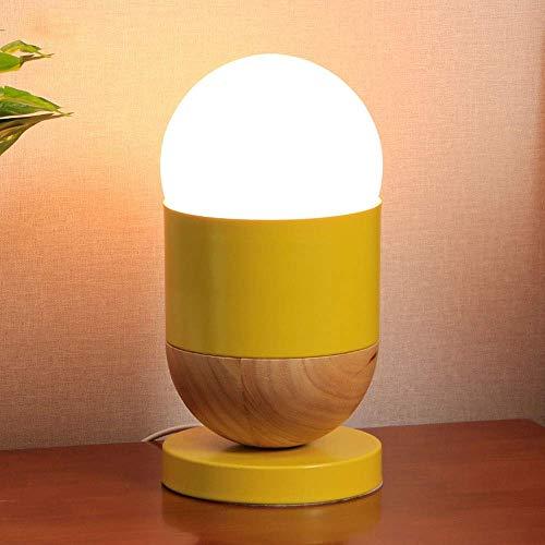 Dr.Sprayer Lámpara de Mesa Nueva lámpara de Mesa de Bar Bola de Metal Minimalista lámpara de Mesa Peque?a Creativa lámpara Decorativa 15cm * 15cm * 29cm