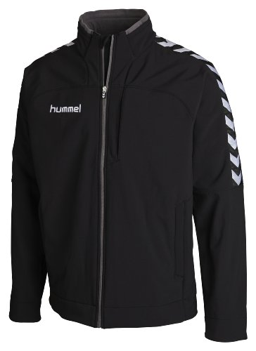 Hummel Kinder Softshell Jacke Stay Authentic, Black, 6-8(116-128)