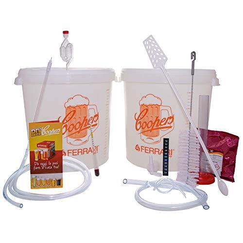 Palucart Kit de fermentación Coopers base para cerveza artesanal hecha en casa