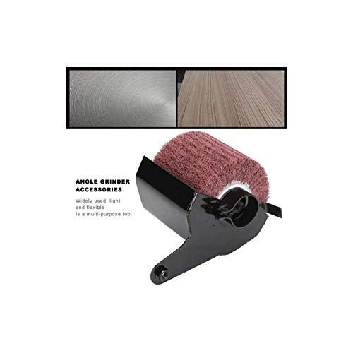 Burnishing Polishing Machine and Attachment for Angle Grinder, Angle Grinder Accessories Polishing Wheel Drawing Machine
