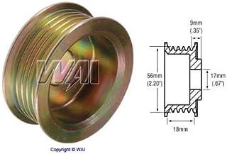 18mm Belt x 56mm Rib OD x 17mm Bore Pulley 5 groove Denso Alternator - 79909020