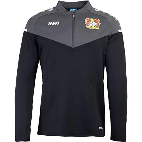 JAKO Bayer 04 Leverkusen Champ 2.0 Zip Top (XL, Black/Anthracite)