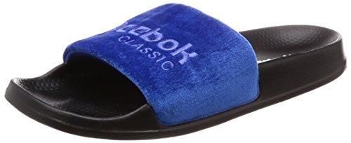 Reebok Unisex-Kinder Classic Slide Dusch- & Badeschuhe, Mehrfarbig (Collegiate Royal/Acid Blue/Black/White/V 000), 37.5 EU