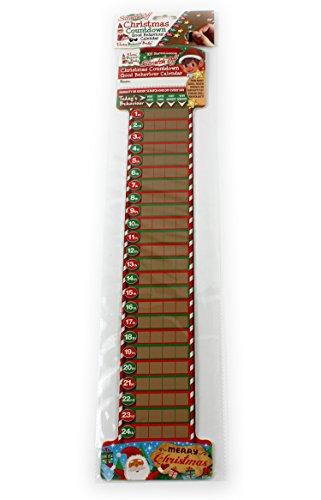 Giftsbynet 2x naughty Elf Christmas countdown scratch off calendari dell' avvento bambini novità nuovo