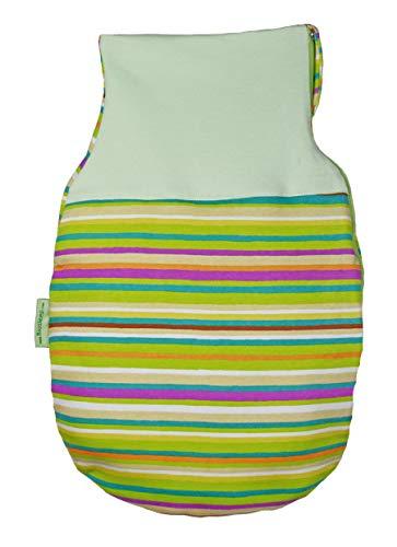 Picosnug Strampelsack I Schlafsack I unisex I mit Stretchbund und glattem Rückenteil I Seitenreißverschluss (50/56)