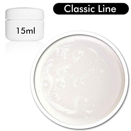 Gel Uv/LED premium 15ml color Transparente, Clear - Blucc Style