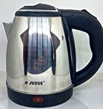 Prestige TTK JUDGE Stainless Steel Kettle 1.2 L with Concealed Element and Detachable Power Base (Silver)