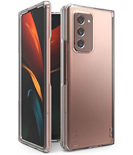 Ringke Slim Compatible con Funda Samsung Galaxy Z Fold 2 (2020) Transparente Elegante Fina Carcasa Galaxy Z Fold 2, Funda Delgada Ligera para Galaxy Z Fold 2 - Clear