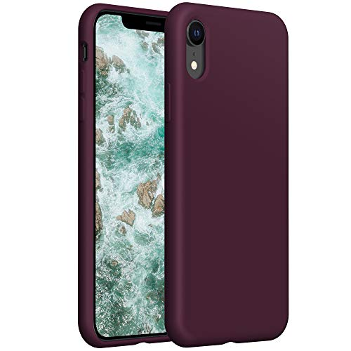YATWIN kompatibel mit Handyhülle iPhone XR Hülle Silikon, Ultra Dünn Flüssig Silikon Hülle iPhone XR Hülle, Schutzhülle iPhone XR Hülle 6.1