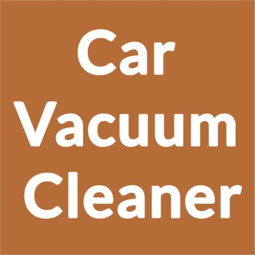 Tips on Using a Car Vacuum Cleaner