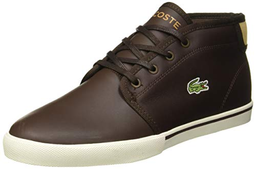 Lacoste Herren Ampthill 319 1 CMA Sneaker, Braun (Dark Brown/Light Tan 1w3), 40 EU