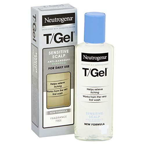 Neutrogena T/Gel Champú Anticaspa (Cuero Cabelludo Sensible) - 125 ml.