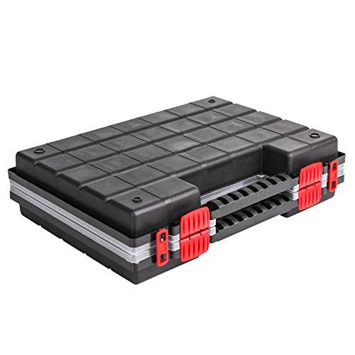 Sortimentskasten Kleinteilemagazin Sortierbox NORS16DUO mit Deckel Sortierkasten