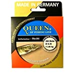 Queen of Fishing Line Zielfisch-Schnur Hecht 0,35mm 11,4kg 300m