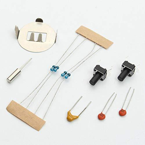 Módulo electrónico 4 Tubo de bits digitales DIY Kit LED Digital reloj de pulsera electrónica Kit Equipo electrónico de alta precisión