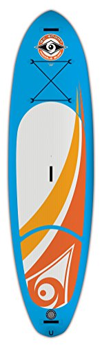 BIC Sport Sup AIR Inflatable Stand up Paddleboard, Blue, 10-Feet 6-Inch x 33-Inch x 22# x 235L
