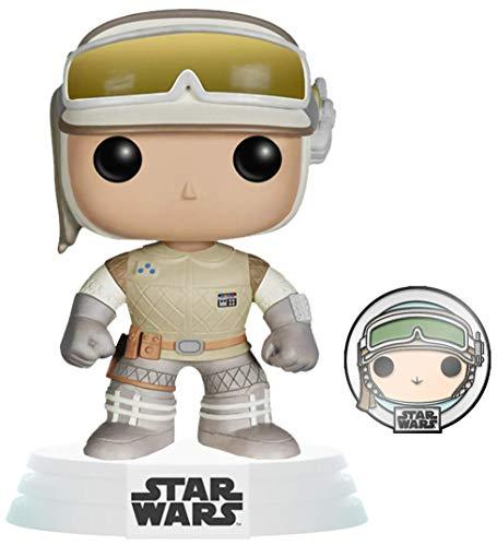 Funko 55483 POP Star Wars: ATG- Luke Skywalker w/Pin - Exclusive