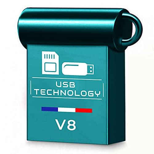 Memoria USB de 512 GB – USB 3.1 – CAPACIDAD REAL – V8 – Metal – Ultra rápido – Excelente calidad