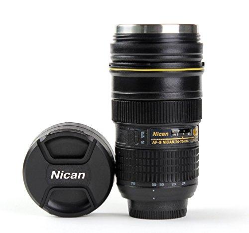 1x MUG Isolierflaschen-Objektiv Nikon 24 70 Cup Pencil Pot