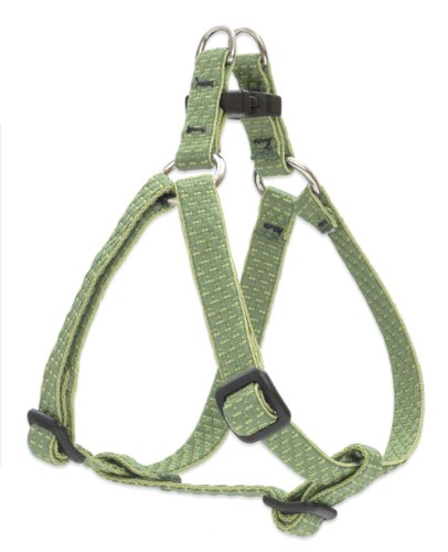 LupinePet Eco 1/2' Moss 10-13' Step In Harness for Extra Small Dogs