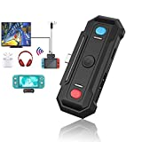 YIKESHU Switch Dock with Bluetooth, Wireless Audio Transmitter Adapter for Switch/Switch Lite USB Type C Phones(Plug and Play)
