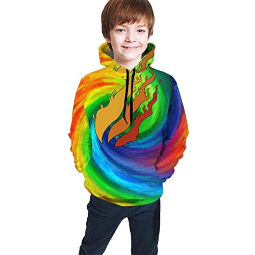 Rogerds Preston Playz Fire Logo Youth Boys Girls 3D Print Pullover Hoodies Hooded Seatshirts Sweater