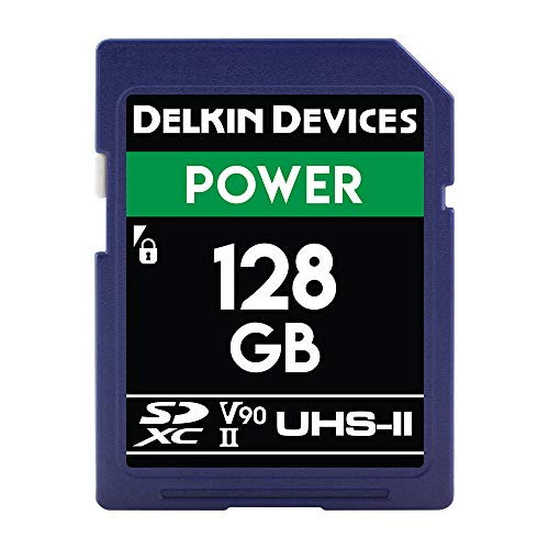Delkin Devices 128GB Power SDXC...